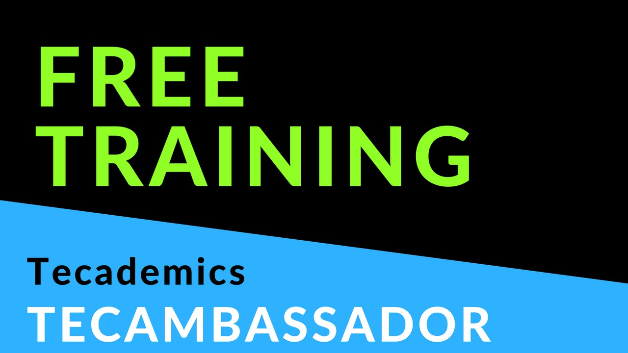 tecademics_free_training