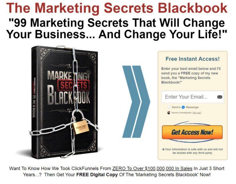Marketing Secrets Blackbook