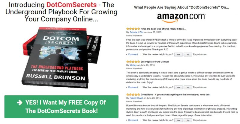 Dot Com Secrets Book